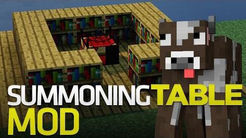 summoning table minecraft mod
