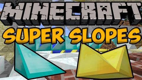 super slopes minecraft mod