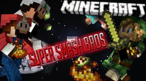 super smash bros minecraft mod