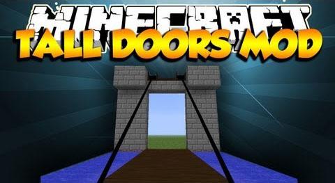 tall doors minecraft mod