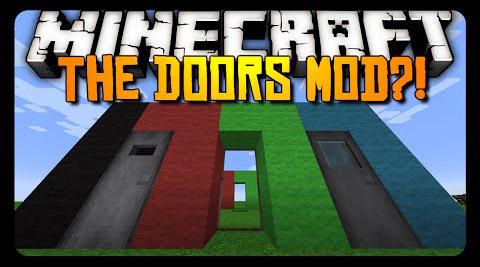 the doors minecraft mod