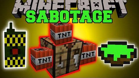 the sabotage minecraft mod