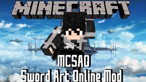 the sword art online minecraft mod
