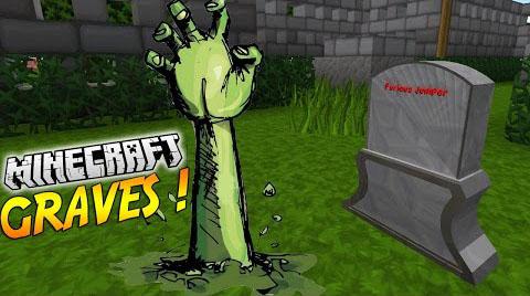 tomb many graves minecraft mod