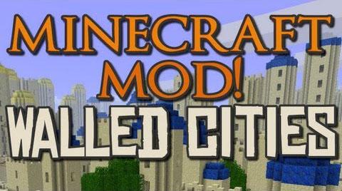 walled city generator minecraft mod