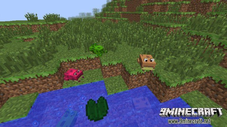 water mobs aycreature minecraft mod
