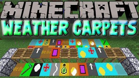 weather carpets minecraft mod